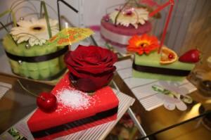 Les pâtisseries florales de Lorrie
